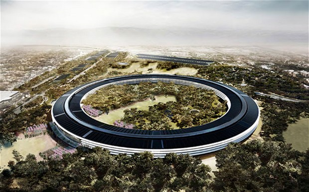 المقر الجديد يشبه سفينه الفضاء